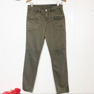 NWT Blank NYC down to earth skinny cargo jeans